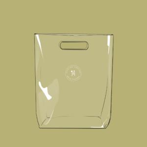 Diseño Cartera tipo bolsa Perulana vista frontal